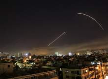 Удар по Сирии: США, Франция и Британия выпустили по Дамаску и Хомсу около 100 ракет (ВИДЕО)