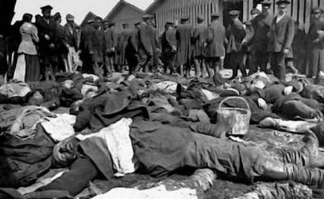 Большинство трупов (кроме опознанных сразу на месте и выданных для погребения в свои приходы) было собрано на Ваганьковском кладбище, где проходило их опознание и погребение.
