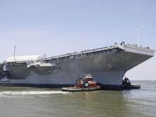 Самый дорогой боевой корабль в мире получили ВМС США