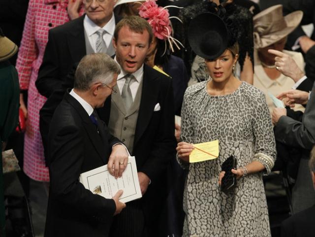 Никто родства не отрицает, Гай даже присутствовал на королевской свадьбе по приглашению невесты.