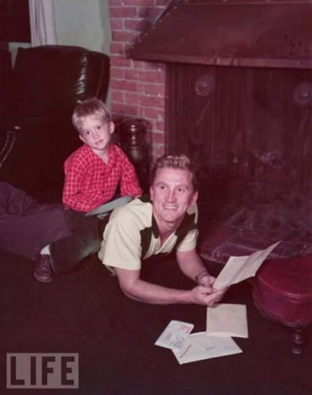 Майкл Дуглас с отцом