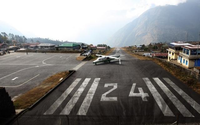 Аэропорт Тенцинг-Хиллари, Лукла, Непал