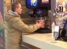 Наглость россиянина в«Бургер Кинге» прославила его на весь мир