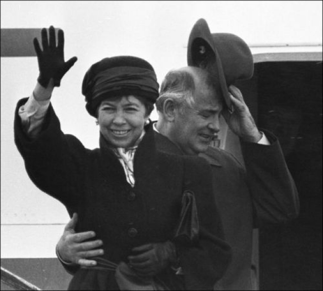 Через 32 года Горбачева избрали генеральным секретарем ЦК КПСС, и его супруга приступила к выполнению своих государственных обязанностей.