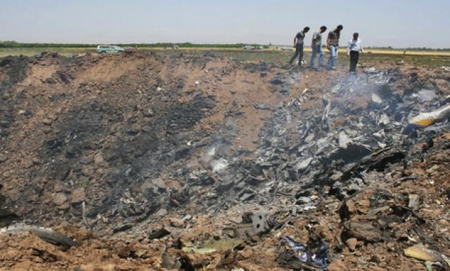 15 июля 2009 года на северо-западе Ирана разбился самолет Ту-154М иранской авиакомпании Caspian Airlines, совершавший перелет из Тегерана в Ереван.
