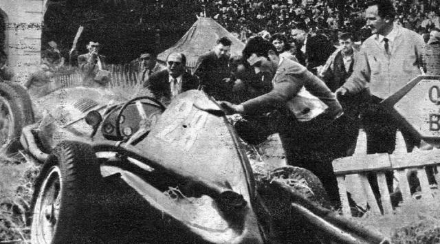 На 19-м круге Марио перепутал педаль при приближении к повороту и вместо замедления поддал газу и врезался в ограждение, получив смертельные травмы головы и груди.