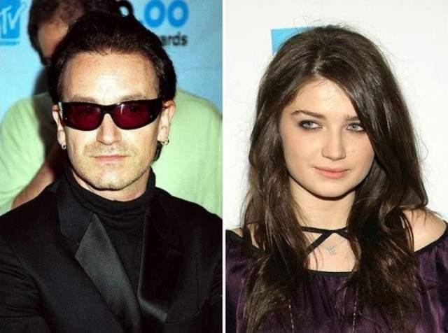 Ив Хьюсон ДочьБоно из U2.