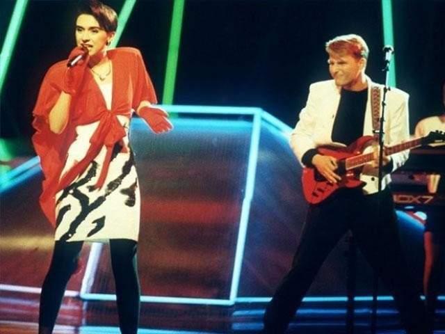 "Riva , Югославия (""Rock Me""), 1989 год"