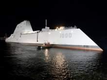 Американский эсминец-невидимка за $4,4 млрд сломался во время испытаний