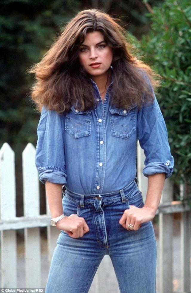 Кирсти Элли. Когда-то актриса была очень привлекательной и харизматичной женщиной.