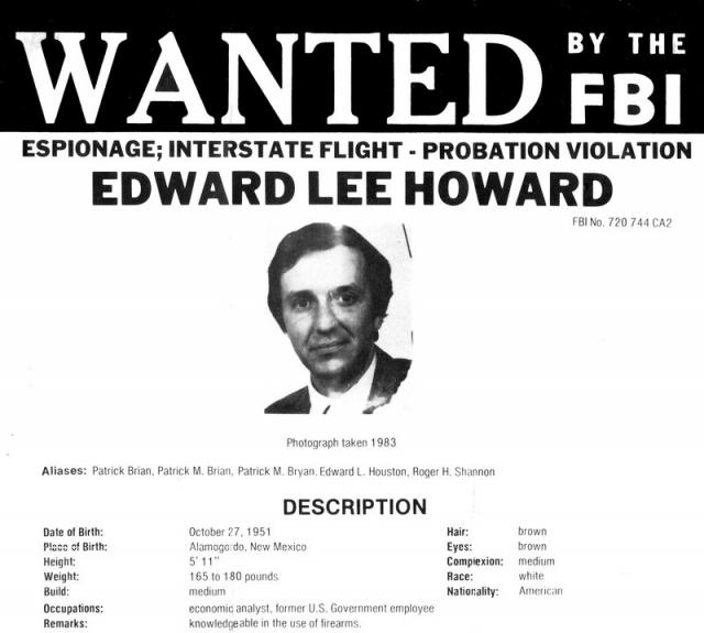 В том же году сотрудник КГБ бежал в посольство США в Риме и на допросах предоставил данные о двух американских офицерах разведки, которые были агентами КГБ - Эдварде Ли Говарде и Рональде Пелтоне.