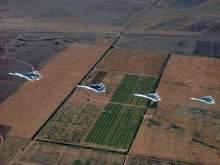 Уникальные маневры Су-57 засняли на видео