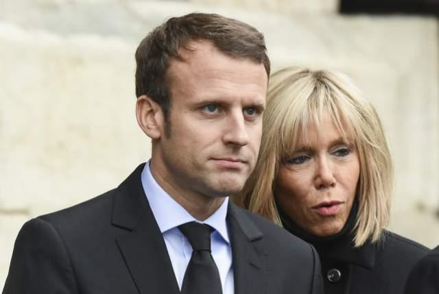 Эмманюэль Макрон, 40 лет. Жена - Бриджит Макрон, 65 лет. Разница - 25 лет. Пожалуй, самые известные отношения, где мужчина младше своей избранницы.