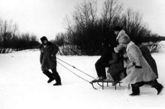 Ф.Кастро и Завидово. Автор: Егоров Василий, 1964 год