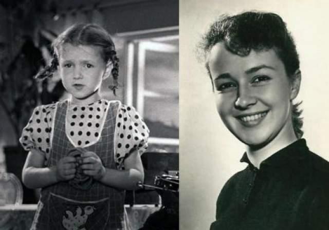 """Наталья Защипина В кино с 1944 года. Тогда на экраны вышел фильм """"Жила-была девочка"""", где она сыграла свою первую роль - 5-летнюю блокадному Катю."""