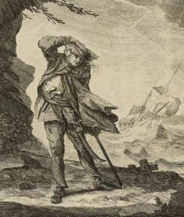 Эдвард Лау (1690-1724). Большую часть жизни Лау промышлял мелким воровством, а когда его жена умерла при родах, он понял, что отныне его ничто не привязывает к дому.