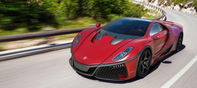 GTA Spano - $1 140 000. Максимальная скорость авто - 350 км/ч при мощности двигателя в 780 л.с.