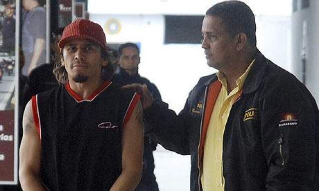 18 апреля 2010 года Эдвин Валеро был арестован по подозрению в убийстве жены.