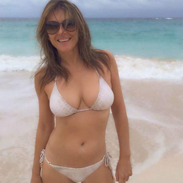 На шестом десятке Херли беззастенчиво валяется в бикини на пляже (и даже без бикини), а затем выкладывает красочные фото себе на страницу.
