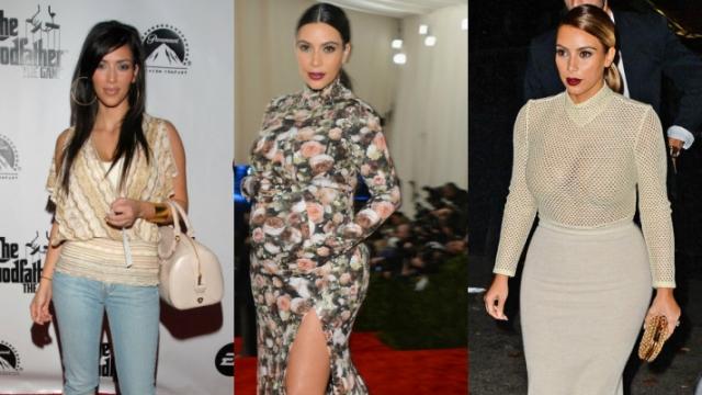 Жертвой лишнего веса стала и звезда реалити-шоу и Инстаграм Ким Кардашьян .