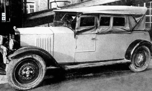 Первый серийный легковой автомобиль Советской России был выпущен в 1927 году. Его максимальная скорость составляла 70 км/ч, а мощность 20 л. с.