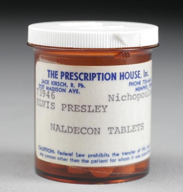 Сам Пресли не считал себя наркоманом, поскольку был уверен в прописываемых докторами лекарствах. Он просто внимательно изучал медицинские характеристики своих лекарств, чтобы избежать побочных эффектов и передозировки.