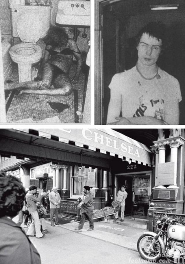 В октябре 1978 года они вместе принимали наркотики в гостиничном номере, а когда Сид пришел в себя, то обнаружил Нэнси на полу ванной: она была убита его ножом.
