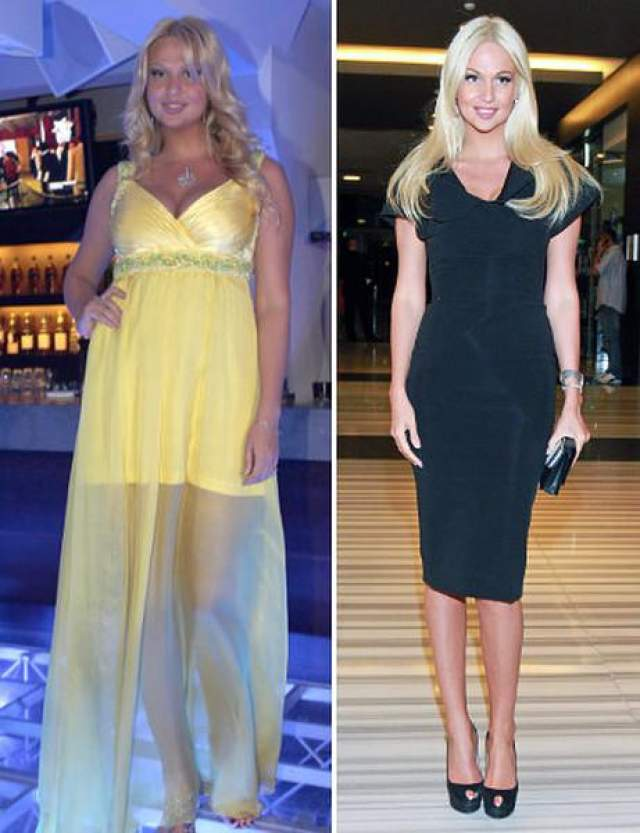 Виктория Лопырева По мнению поклонников, 35-летняя фотомодель и телеведущая сейчас выглядит моложе и красивее, чем 7-8 лет назад, поскольку ей явно пошло на пользу похудение.