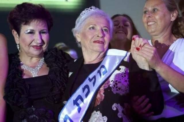 """Мисс """"Пережившая Холокост"""" Впервые конкурс прошел в израильском городе Хайфа в 2012 года. Уже тогда в нем было 300 участниц, 14 из которых дошли до финала."""