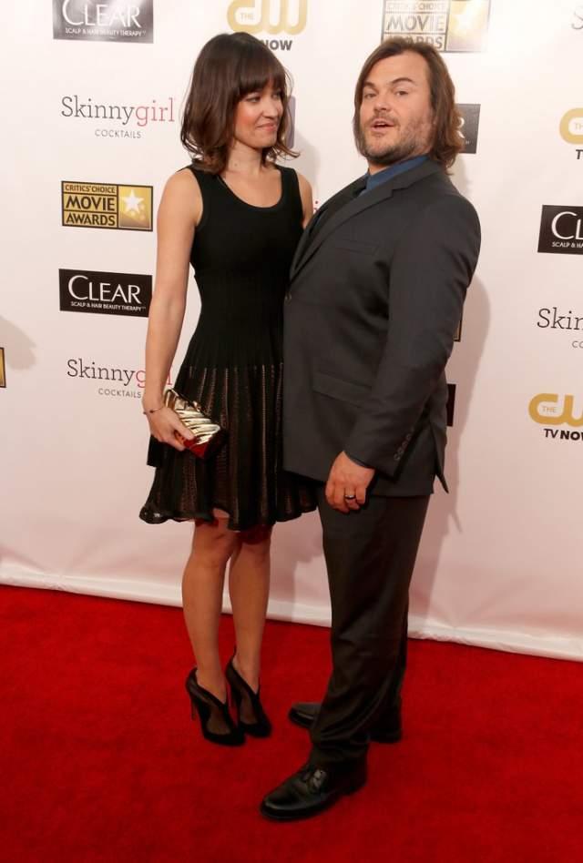 Джек Блэк. За плечами упитанного актера множество отношений со стройными коллегами. В 2006 году он был женат на Тане Хейден.