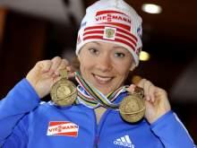 Биатлонистку Зайцеву лишили серебра Игр-2014 и пожизненно отстранили от Олимпиады