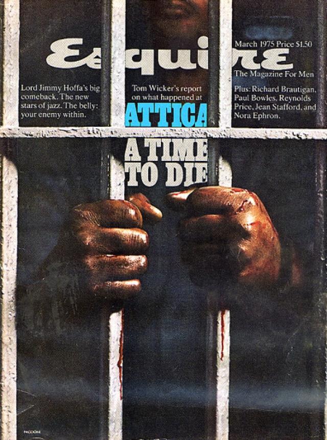 Esquire, март 1975. Номер посвящен проблеме смертной казни.