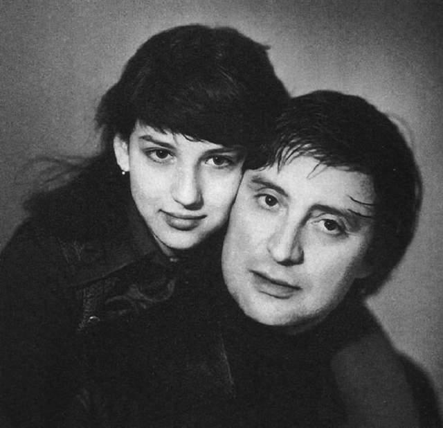 Вениамин Смехов с дочерью Аликой.