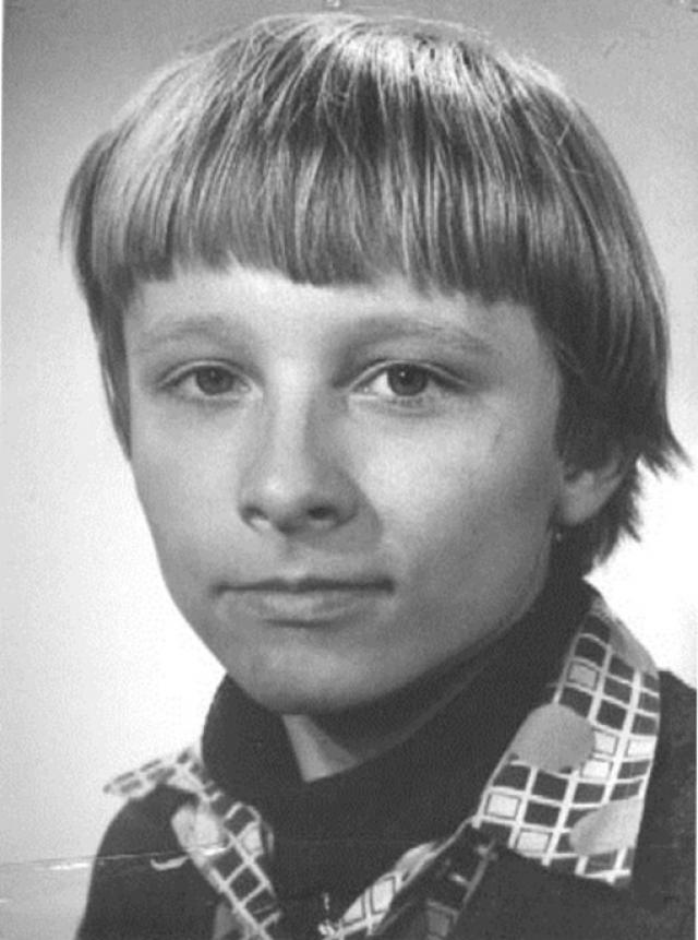 Маленький Ваня Охлобыстин .