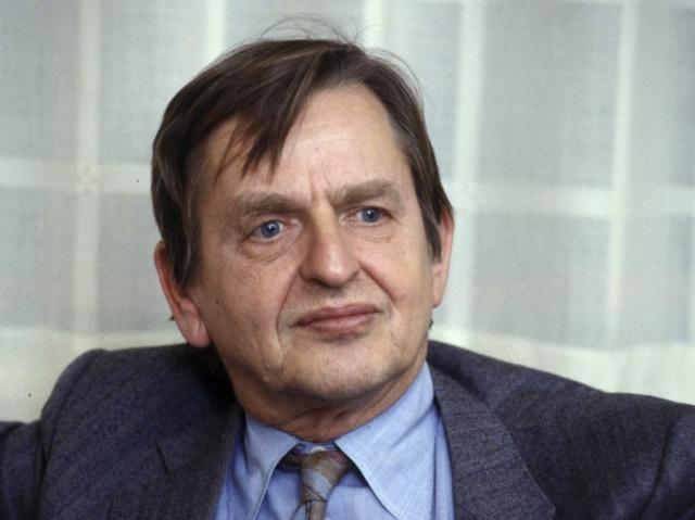 Улоф Пальме. 28 февраля 1986 в Стокгольме был убит шведский премьер-министр.
