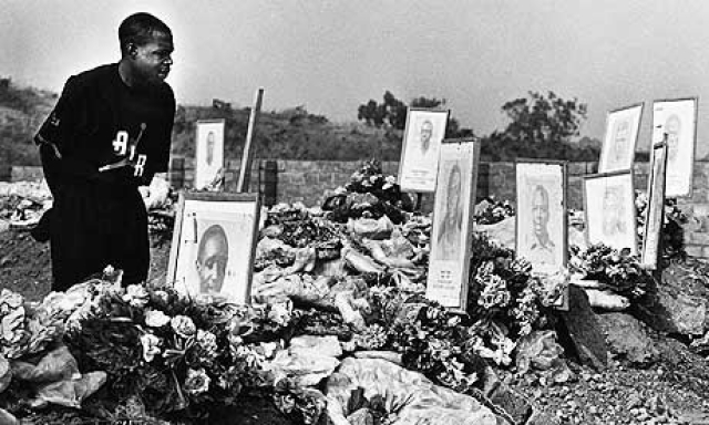 Из общих 30 человек погибших, 18 являлись членами футбольной сборной.