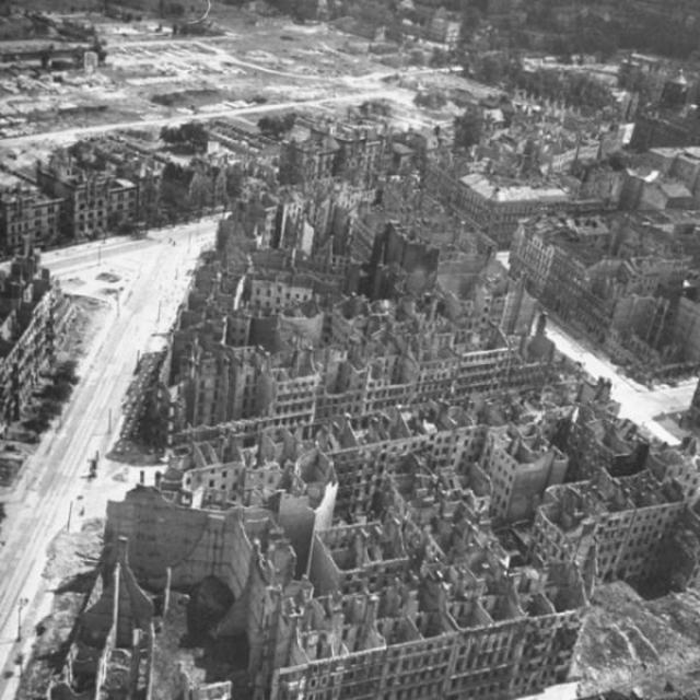 Развалины города.