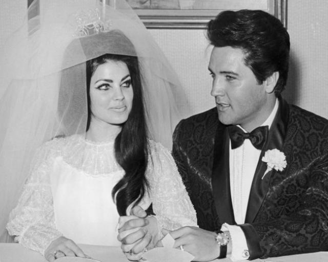 Они поженились значительно позже, в 1967 году, и развелись в 1973.