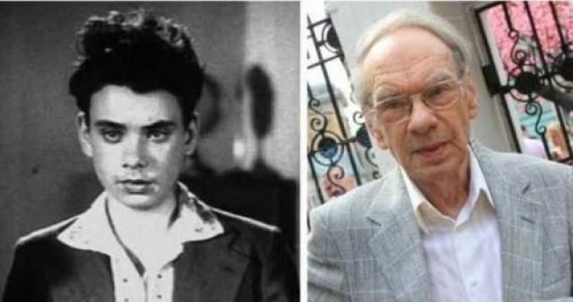 """Алексей Баталов впервые снялся в кино в фильме """"Зоя"""" 1944 года. Тогда актеру было 16 лет."""