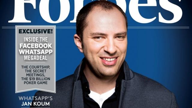 Ян Борисович Кум. Состояние: $8,71 млрд. Американский предприниматель и программист, со-основатель и CEO мессенджера WhatsApp.