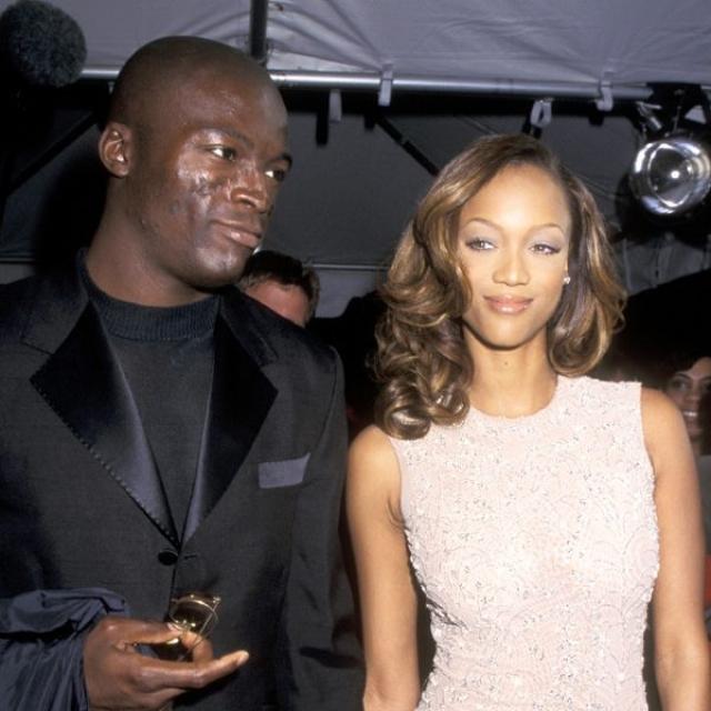 """Тайра Бэнкс и Сил. В 1996 году основательница шоу """"Топ-модель по-американски"""" встречалась с будущим мужем другой супермодели Хайди Клум. Их роман продлился чуть меньше года."""