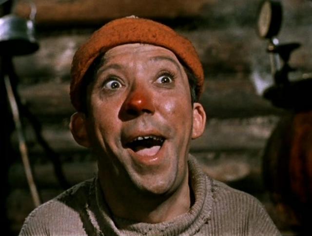 """В 1960 году артист согласился сыграть Балбеса в короткометражной комедии """"Пес Барбос и необычный кросс"""" Леонида Гайдая и следующим утром проснулся знаменитым. Успех был колоссальным."""