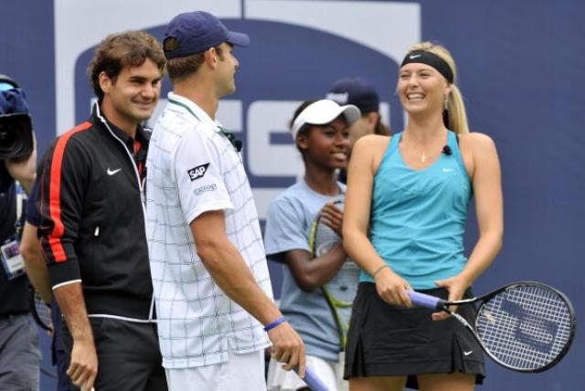 О новом романе двух теннисистов сразу же начали писать таблоиды, но пара не подтверждала слухи.