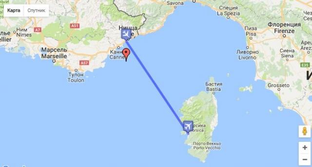 Самолет затонул в Средиземном море на глубине 2,6 километров. Изначально причиной крушения назвали возгорание хвостовой части самолета. Что послужило источником возгорания не установили.