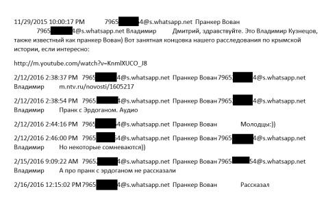 Элитная квартира и диплом за деньги хакеры взломали почту  В других он получает информацию об украинских деятелях которая судя по всему может быть полезна ему при подготовке сюжетов