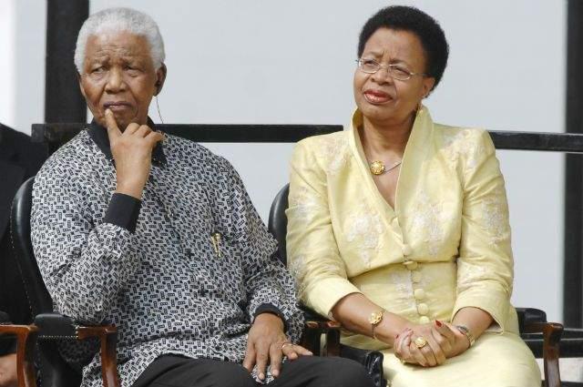 Граса Машел, любовница Нельсона Манделы. Они познакомились заочно в 1986 году. Тогда Мандела из тюрьмы отправил ей письмо с соболезнованиями по поводу трагической и загадочной смерти ее мужа - президента Мозамбика Саморы Машела. Тот погиб в авиакатастрофе при невыясненных обстоятельствах.
