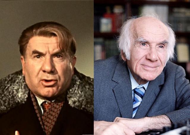 Игорь Ильинский. Актер дожил до 85 лет и Скончался 13 января 1987 года в Москве.