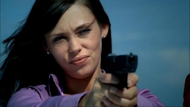 """В сериале """"Шпионка"""", в котором Ольга сыграла Бриджит, ее коллегой стала сама Дженнифер Гарнер."""