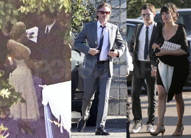 Анна Пакуин и Стивен Мойер. Пара перенесла экранные отношения в жизнь и поженилась в августе 2010 года.