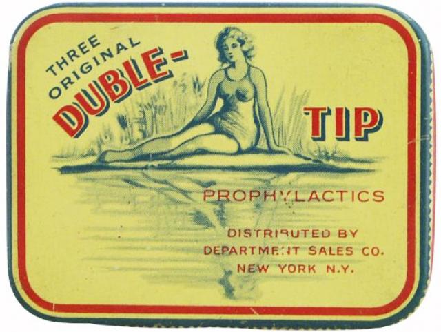В течение Второй мировой войны презервативы не только распространялись среди американских военнослужащих-мужчин, но их использование широко пропагандировалось в фильмах, постерах и лекциях.